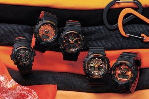 G-Shock Bright Orange Series November 2018