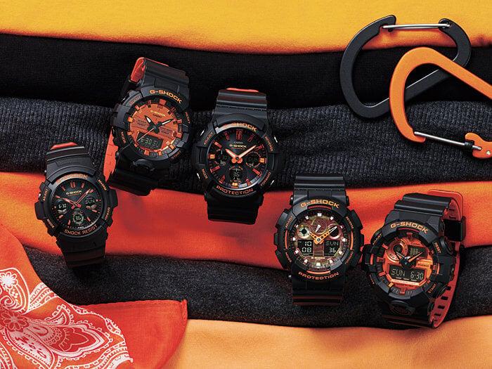 G-Shock Bright Orange Series November 2018
