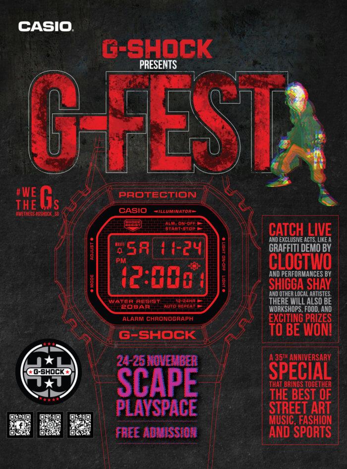 G-Shock G-FEST Singapore 2018