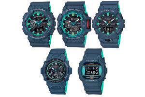 G-Shock Navy Blue Accent Series