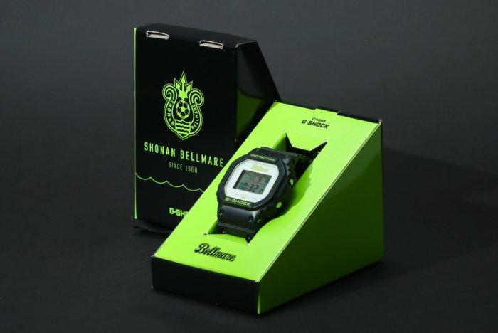 G-Shock DW-5600 x Shonan Bellmare 50th Anniversary Box