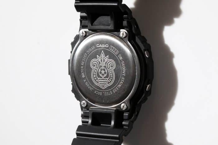G-Shock DW-5600 x Shonan Bellmare 50th Anniversary Case Back