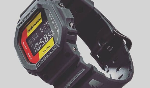 The Hundreds x G-Shock DW-5600 2018