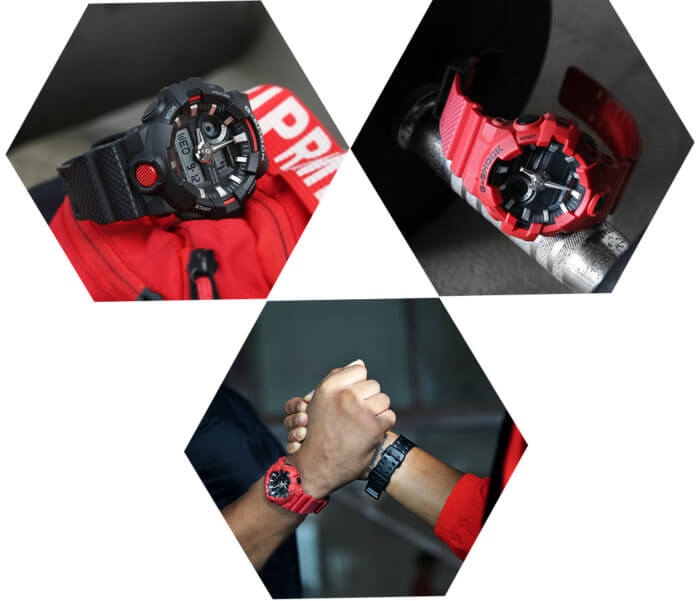 Under Armour HOVR x G-Shock GA-700 Collaboration Watches