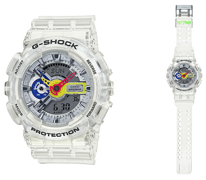 A$AP Ferg x G-Shock GA-110FRG-7A Collaboration Watch
