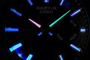 Baby-G Neon Illuminator