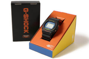 Beams x G-Shock DW-5750BE-1JR Box