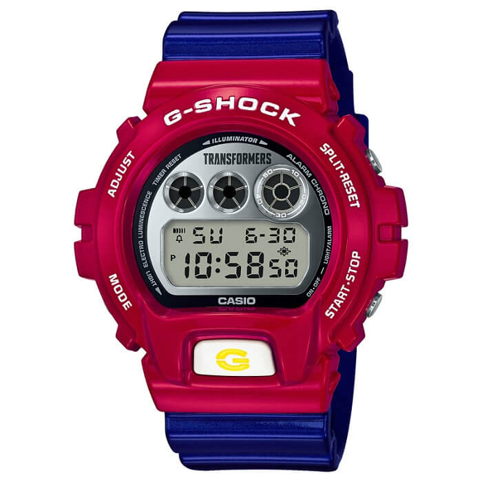 Transformers x G-Shock DW-6900TF-4 Collaboration Watch