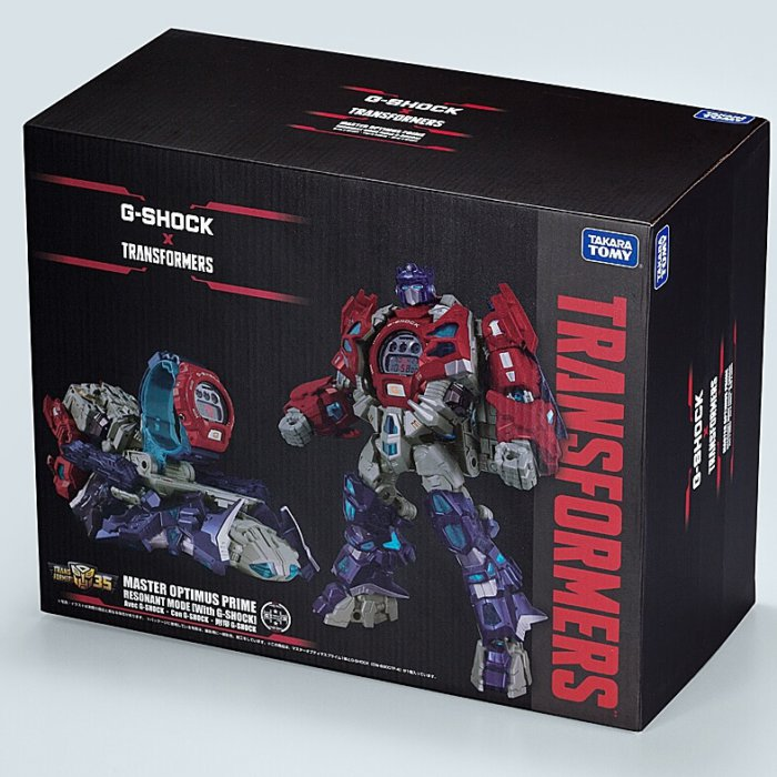 Transformers x G-Shock DW-6900TF-SET Box