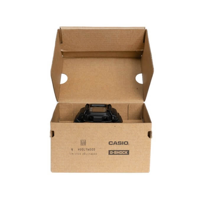 N. Hoolywood x G-Shock DW-D5600NH-1JR Open Box