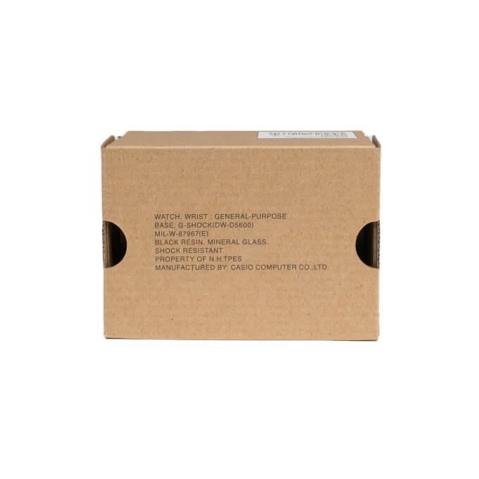 N. Hoolywood x G-Shock DW-D5600NH-1JR Box