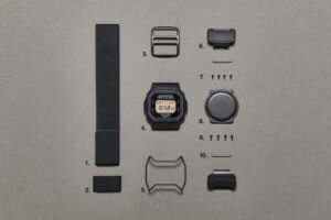 N. Hoolywood x G-Shock DW-D5600NH-1JR Parts