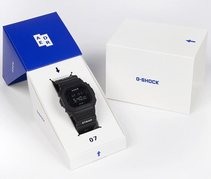 Ader Error x G-Shock DW-5600ADER-1DR Box