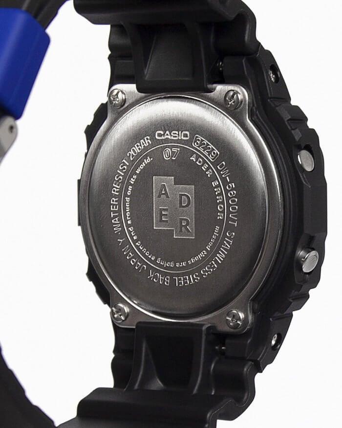 Ader Error x G-Shock DW-5600ADER-1DR Case Back