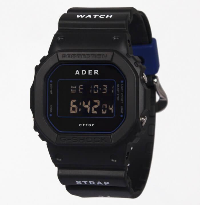 Ader Error x G-Shock DW-5600ADER-1DR Collaboration Watch 2018