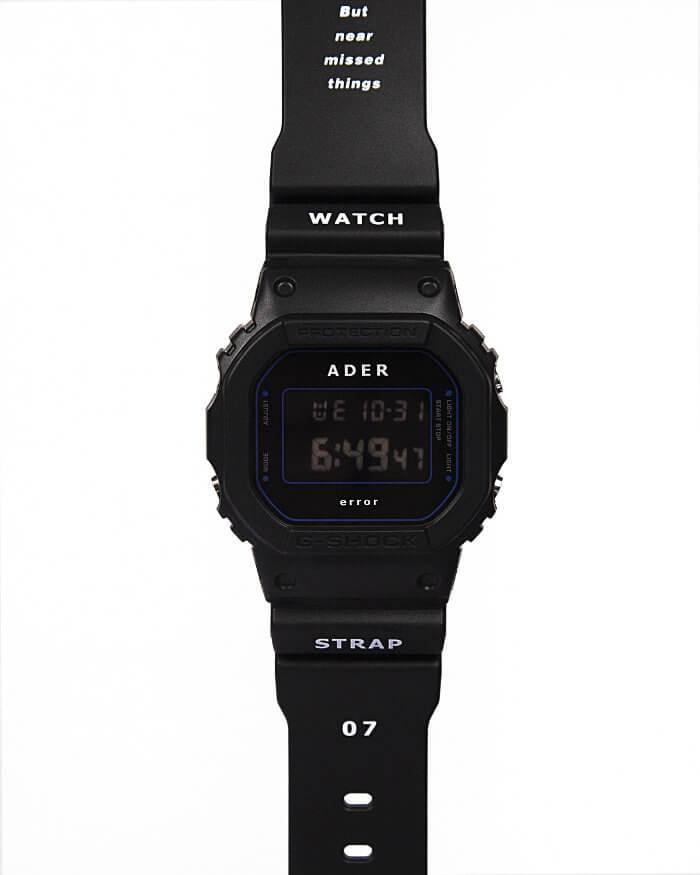 Ader Error x G-Shock DW-5600ADER-1DR Bands