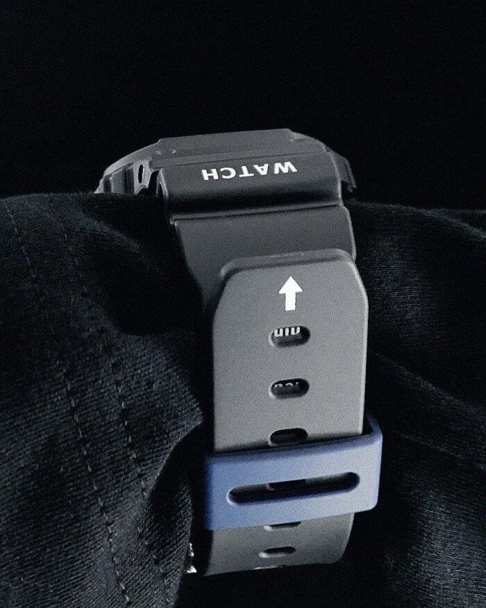 Ader Error x G-Shock DW-5600ADER-1DR Wrist Shot 2