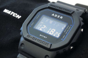 69cae486a07 Ader Error x G-Shock DW-5600ADER-1DR Watch and Clothing