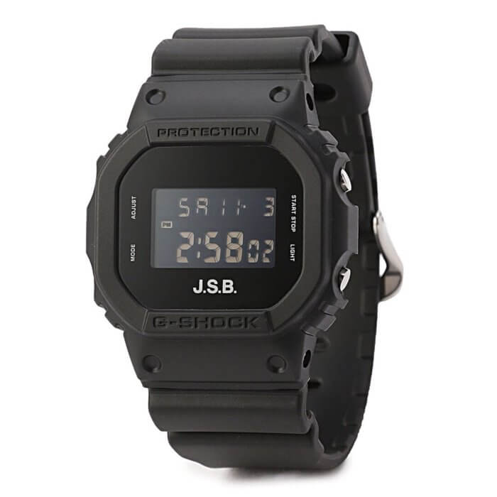 J.S.B. x G-Shock DW-5600 20181110 Collaboration Watch 2018