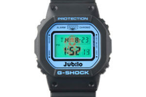 Jubilo Iwata 25th Anniversary x G-Shock DW-5600 EL Backlight