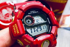 Hong Kong Fire Services Department 150th Anniversary x G-Shock Rangeman GW-9400FSD-4