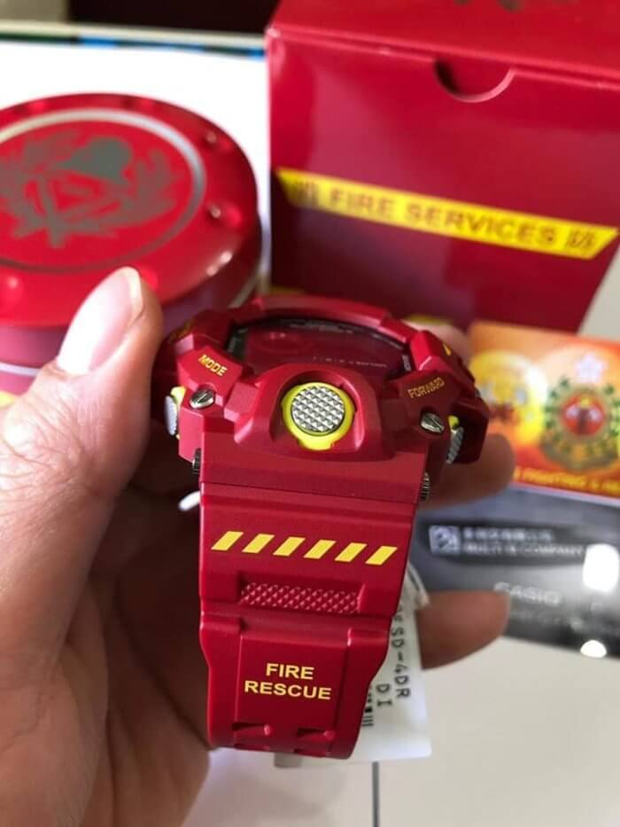 Hong Kong Fire Services Department 150th Anniversary x G-Shock Rangeman GW-9400FSD-4 Band