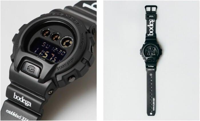 Bodega x G-Shock DW-6900 Collaboration Watch 2018