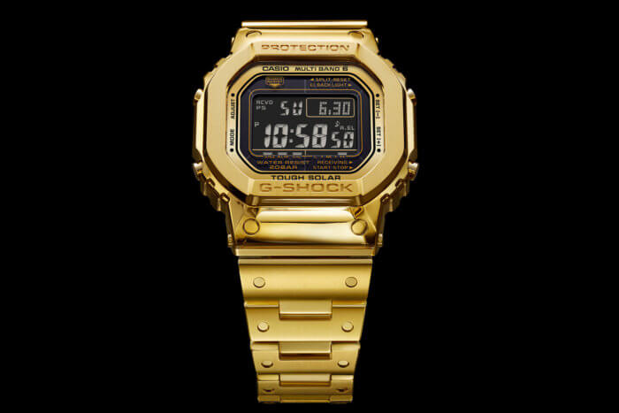 Pure Gold Dream Project G-Shock Limited Edition for 2019 2