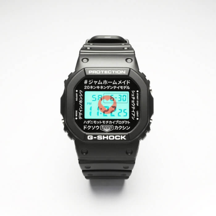 G-Shock DW-5600 x Jam Home Made 20th Anniversary EL Backlilght