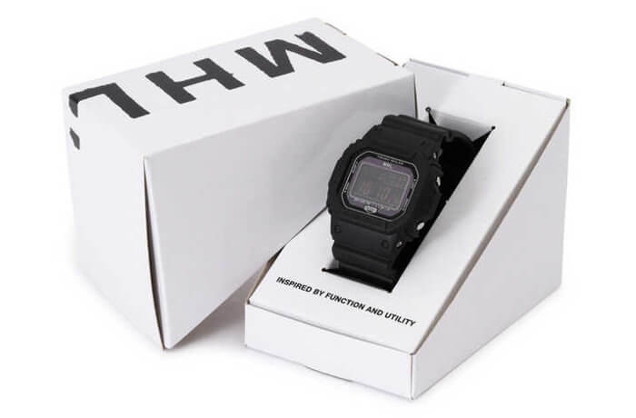 Margaret Howell (MHL) x G-Shock G-5600 2018-2019 Box