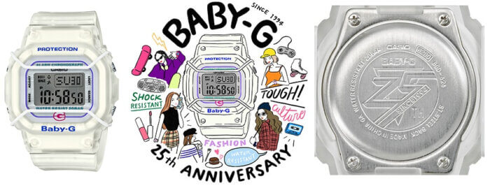 Casio Baby-G BGD-525 25th Anniversary