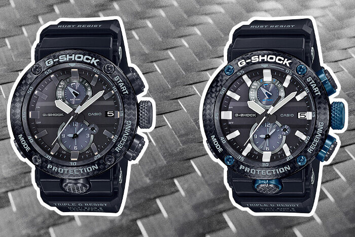 G-Shock Gravitymaster GWR-B1000-1A and GWR-B1000-1A1 for March 2019