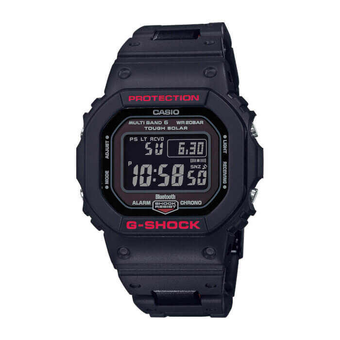 G-Shock GW-B5600HR-1 Black and Red Heritage Series