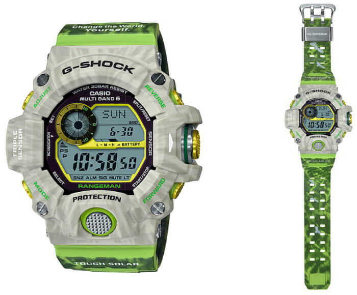 G-Shock GW-9404KJ-3JR Rangeman Earthwatch Edition Love The Sea And The Earth 2019