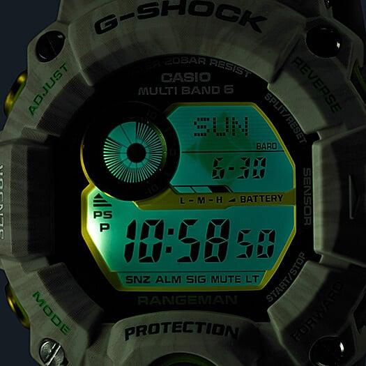 G-Shock GW-9404KJ-3JR Rangeman LED Light