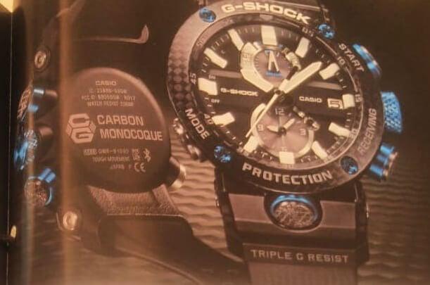 Casio G-Shock GWR-B1000 Gravitymaster Carbon Monocoque