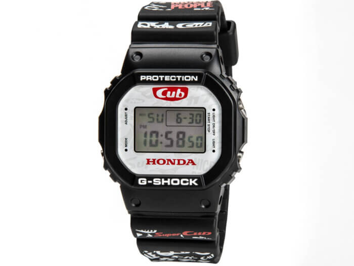 Honda Super Cub x G-Shock DW-5600 60th Anniversary 2018-2019