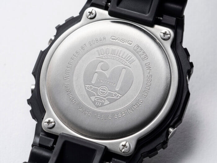 Honda Super Cub x G-Shock DW-5600 Case Back