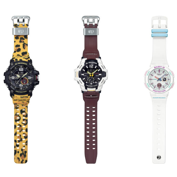 G-Shock GG-1000WLP GR-B100WLP Baby-G BA-255WLP Love The Sea And The Earth 2019 Wildlife Promising