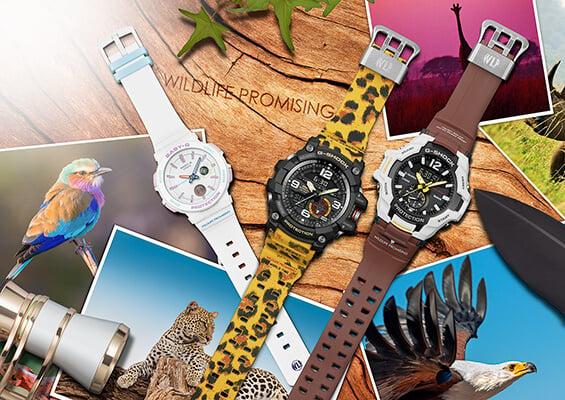 Casio G-Shock & Baby-G Wildlife Promising