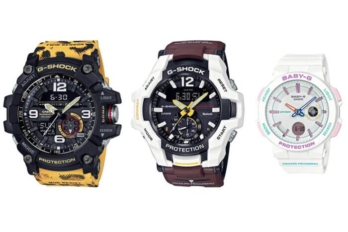 Casio G-Shock and Baby-G Love The Sea And The Earth 2019 Wildlife Promising