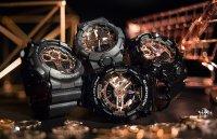 G-Shock Black and Rose Gold MMC Series