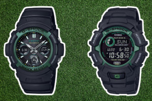 G-Shock Fire Package 2019: AWG-M100SF-1A3JR & GW-2320SF-1B3JR