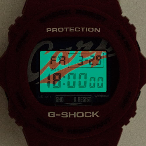 Hiroshima Carp x G-Shock DW-5750 for 2019 EL Backlight