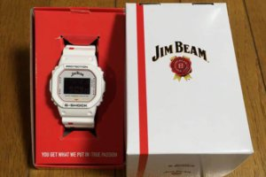 Jim Beam x G-Shock DW-5600 Box