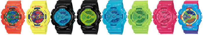 First G-Shock GA-110 Models from 2010