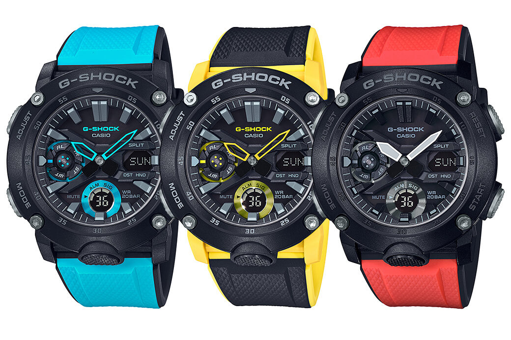collection - Premier achat collection G-SHOCK-GA-2000