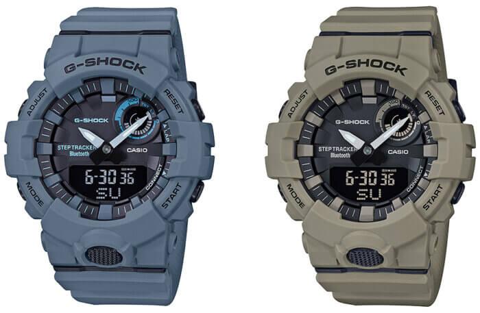 G-Shock GBA-800UC Utility Color: GBA-800UC-2A GBA-800UC-5A