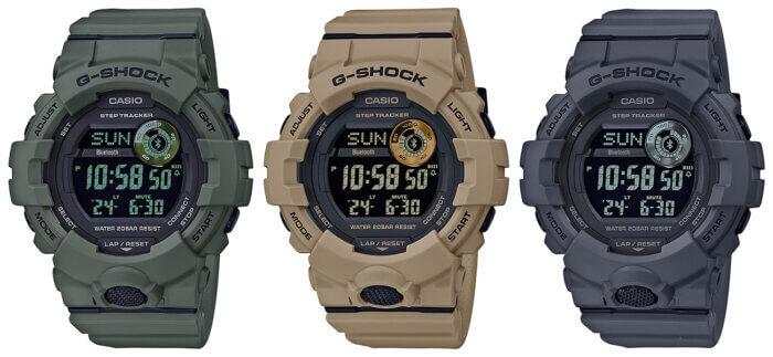 GG-Shock GBD-800UC Utility Color: BD-800UC-3 GBD-800UC-5 GBD-800UC-8