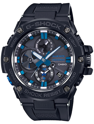 Blue Note Records 80th Anniversary x G-Shock G-STEEL GSTB100BNR-1A